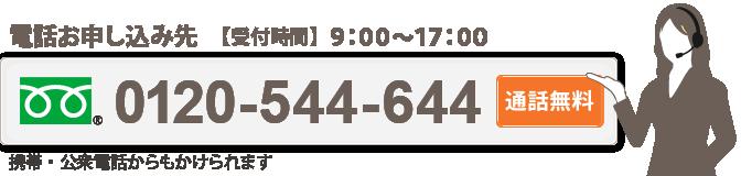 電話申し込み先